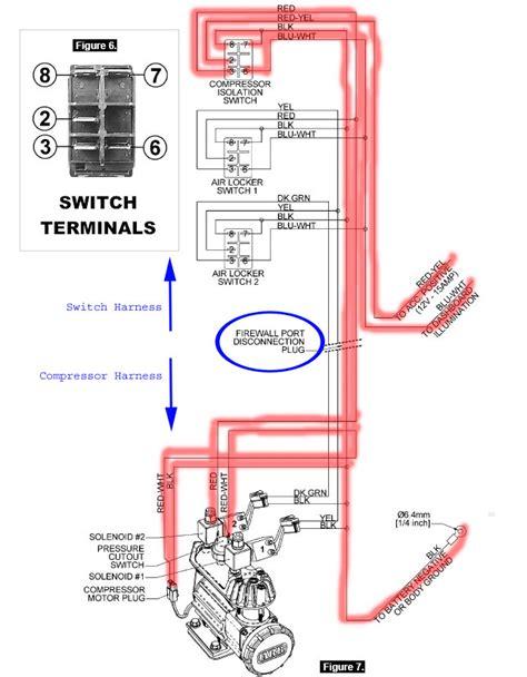 wiring diagram for arb compressor billavista arb air supply tech article by billavista
