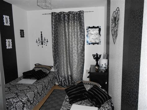 chambre noir gris chambre photo 1 9 3512315
