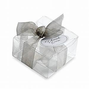 gartner studios 50 count clear favor box bed bath beyond With clear wedding favor boxes