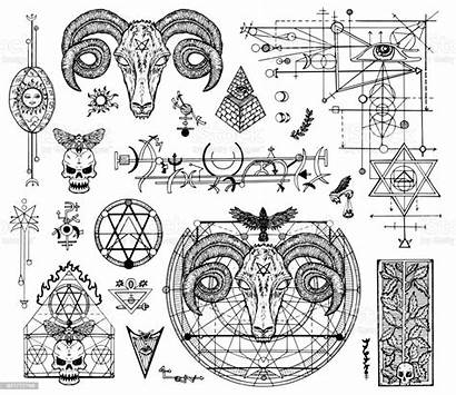 Devil Drawings Mystic Graphic Symbols Religions Tattoo