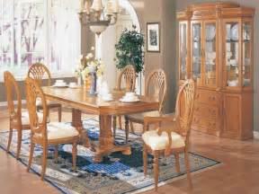 oak dining room set dining room rustic traditional oak dining room set oak