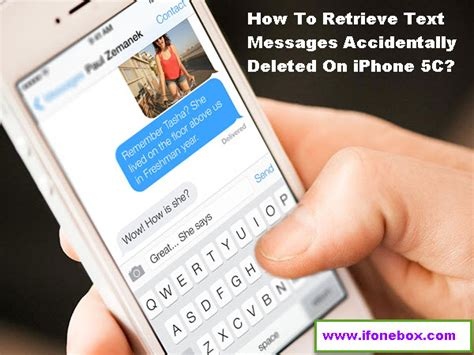 how to retrieve deleted texts on iphone 5c retrieve text messages accidentally deleted on iphone 5c