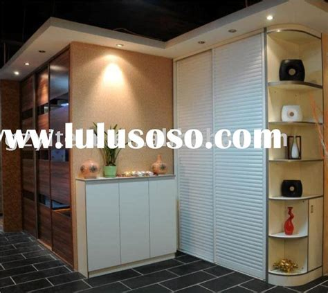 shutter door wardrobe for sale price china manufacturer