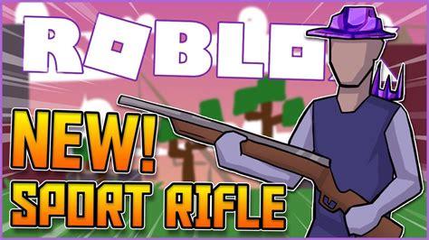 cried    hunting rifle  roblox strucid