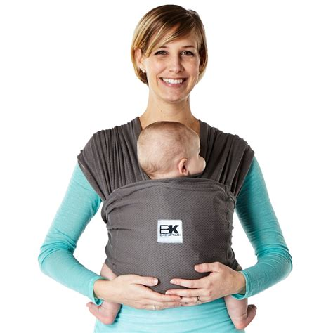com baby k active hi tech sport fabric wrap style baby carrier coral small baby