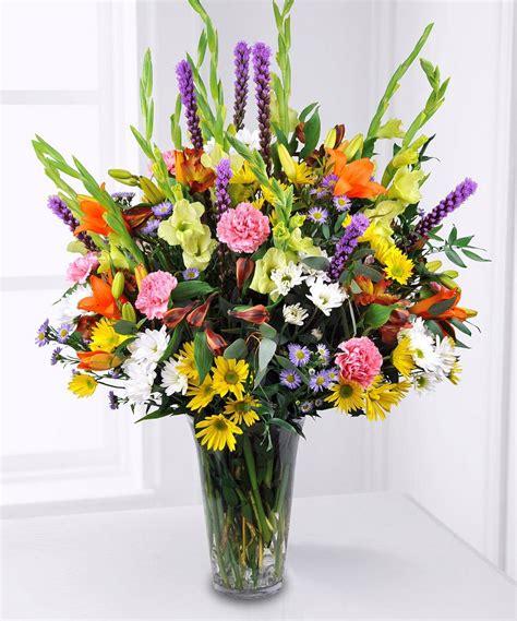 designers choice garden style flower arrangements