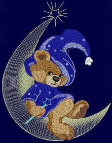 Free Teddy Bear Machine Embroidery Design