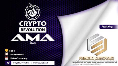 Ferrum Community Ama Recap Crypto Revolution Group In 2021 ...