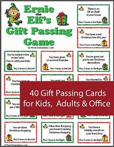 Ernie the Elf s Gift Passing Game Printable Holiday Game
