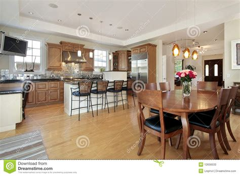 eat in kitchen floor plans kitchen and area stock photos image 12656533