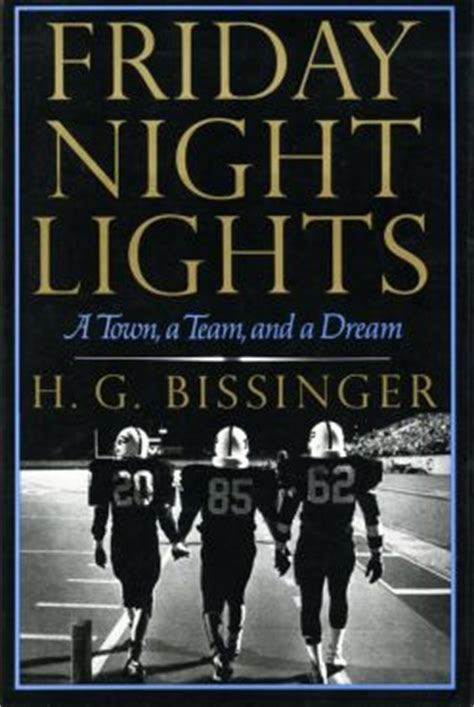 friday night lights book characters friday night lights a town a team and a dream wikipedia