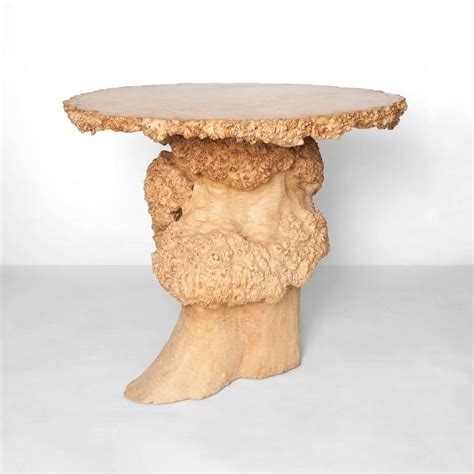 table top birch tree scandinavian modern tree trunk table with burl and birch