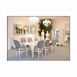 Salle A Manger De Luxe : salle manger argent venize 1 miroir triptique ~ Melissatoandfro.com Idées de Décoration
