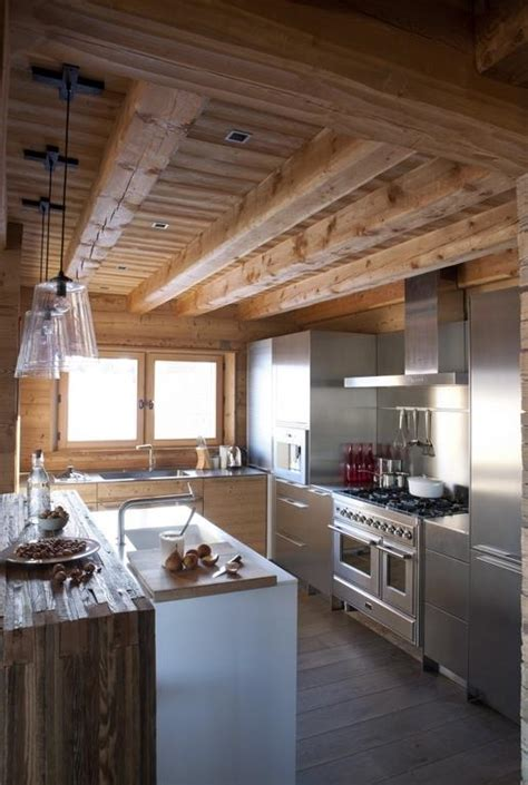 cuisine chalet moderne chalet showroom domozoom com