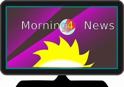 Clipart Clip Tv Morning Television Text Background