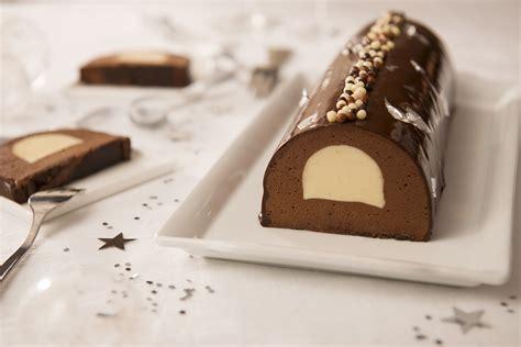 recette de buche de noel chocolat praline