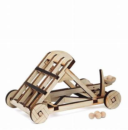 Catapult Wooden Kit Crafts Arts Catapults Toys