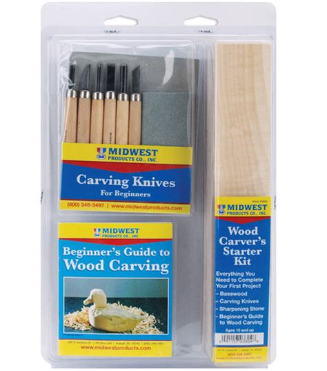wood carving starter kit woodcarvers supply catalog