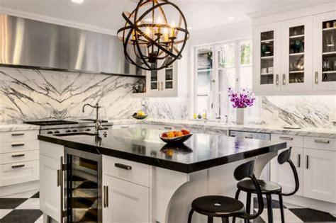 credence cuisine noir et blanc credence cuisine noir et blanc maison design bahbe com