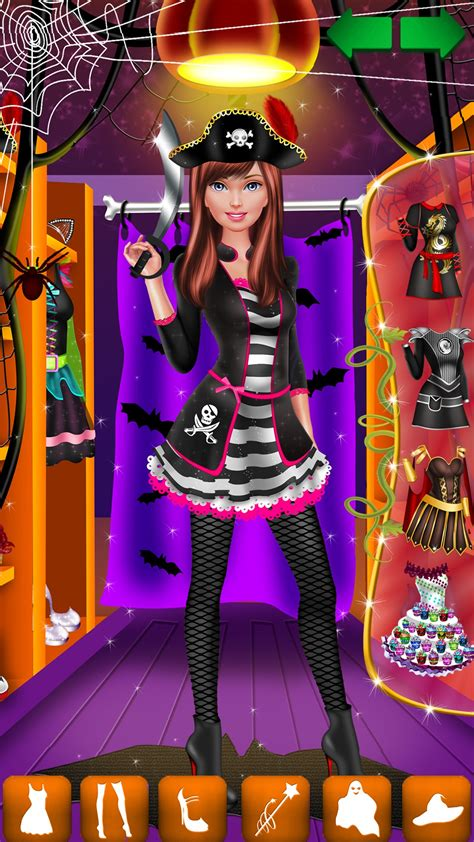 Amazon.com: Halloween Makeover: Spa, Makeup and Dress Up ...