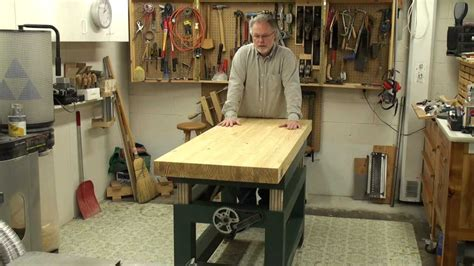 woodworking adjustable height bench youtube