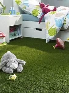 Moquette Imitation Gazon : quel rev tement de sol pour une chambre d 39 enfant ~ Edinachiropracticcenter.com Idées de Décoration