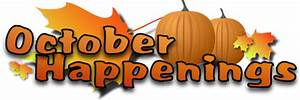 Free October Clipart - The Cliparts