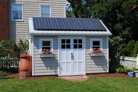 Sustainable Living Shed In A Midwest Suburb Fine
