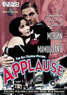 applause  film wikipedia