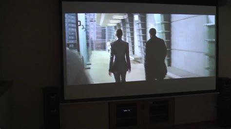 Motorized Projector Screen Demo FAVI Electric Screen