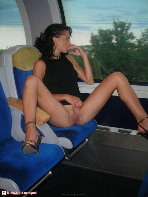 Spread Pussy Flash On Train Picture Of The Day Nickscipio Com