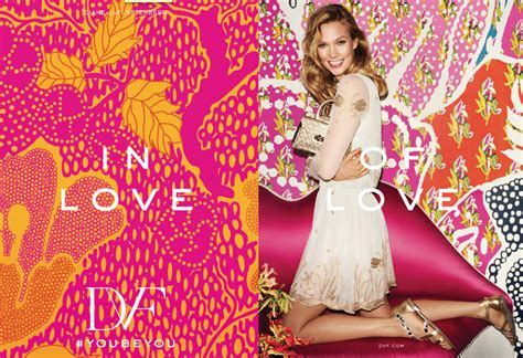 Karlie Kloss Appears Dvf Spring Campaign Daily Front Row
