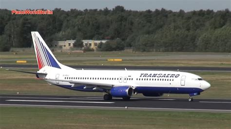 Transaero Airlines Boeing 737-800 Without Winglets