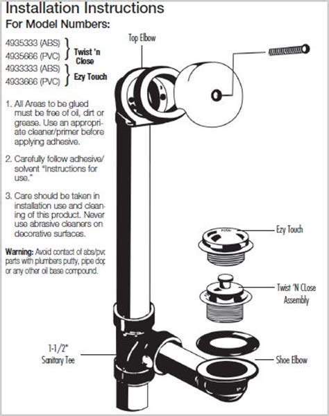tub drain assembly diagram how to replace a bathtub drain and overflow plumbing help
