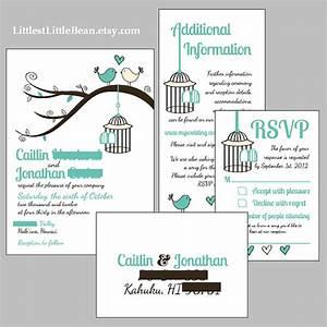 diy birdcage wedding invitation inserts by With wedding invitation etiquette order inserts