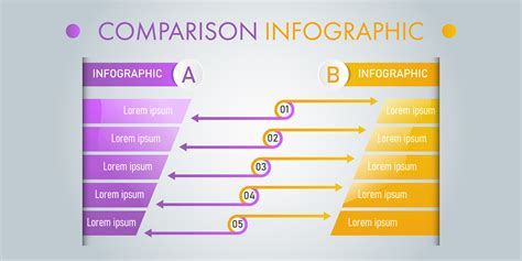 Comparison Infographic Vector Art, Icons, and Graphics for ...