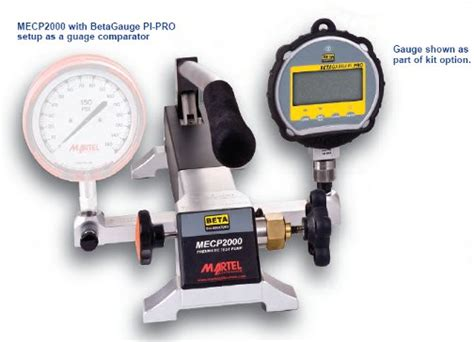 Martel Electronics Mecp 2000 High Pressure Pneumatic Air