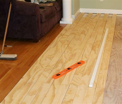 how to lay a plywood floor laying plywood floors hometalk