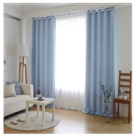 Bedroom Curtains by Aliexpress Buy Bedroom Curtains Simple Solid Color
