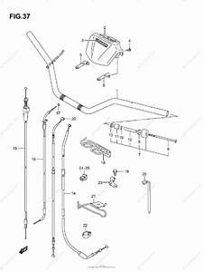 Suzuki Atv 2003 Oem Parts Diagram For Handlebar  Model K3