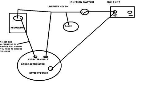 For A Dodge Ram 2500 Alternator Wiring Diagram by Been A Charging Issue With My 92 W250 Cummins I