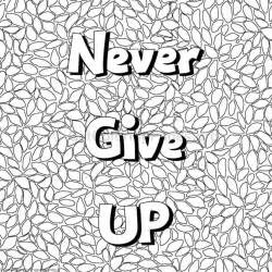 Coloring Quote Pics inspirational word coloring pages 13 getcoloringpages org