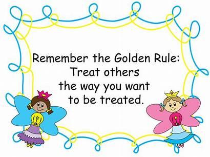 Rules Clipart Rule Golden Classroom Management Clip