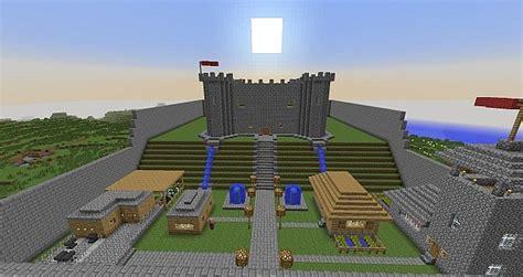 simple castle kingdom minecraft map