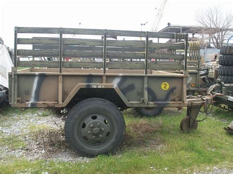 military trailer cer home army spareparts