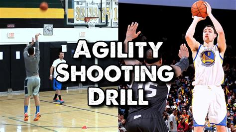 agility conditioning footwork shooting drill