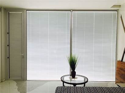 Integrated Motorised Project Blinds Blind