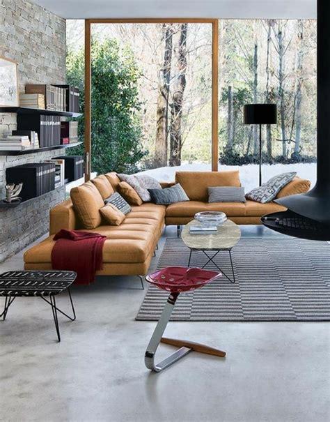 peindre un canapé en cuir quelle couleur pour un salon 80 idées en photos