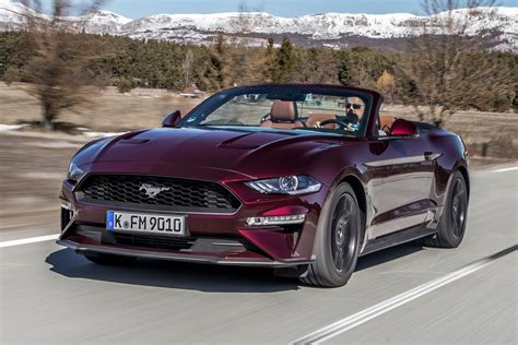 ford mustang cabriolet new ford mustang ecoboost convertible 2018 review auto