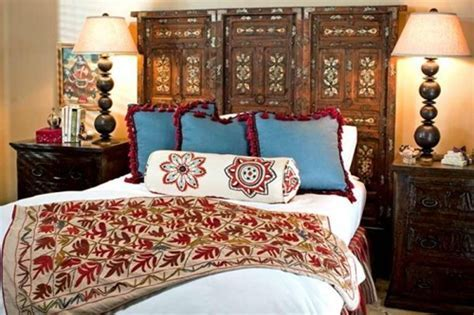 The Beauty of a Mexican Style Bedroom   Interior design